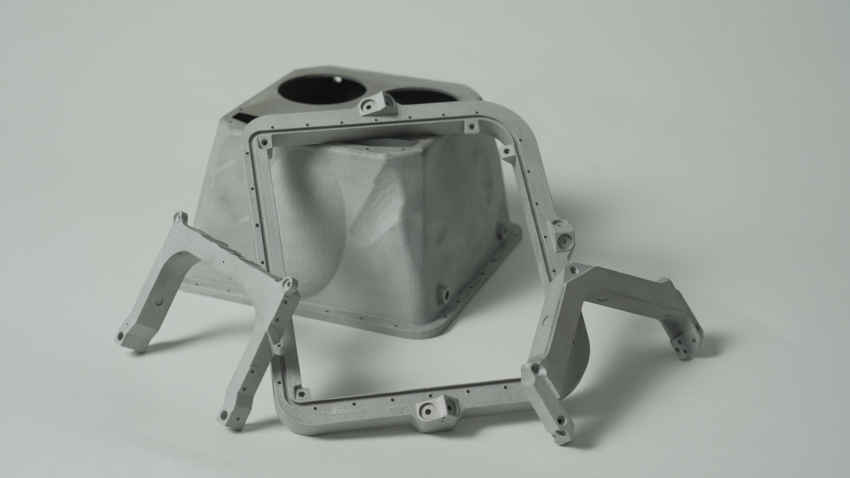 3D Printed Mars Rover PIXL Components